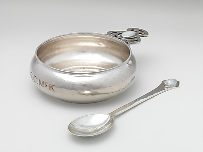 Porringer and Spoon