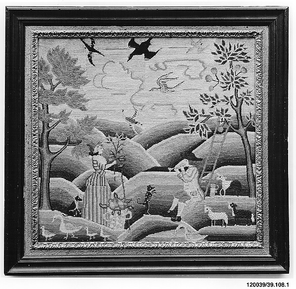 Embroidered Picture