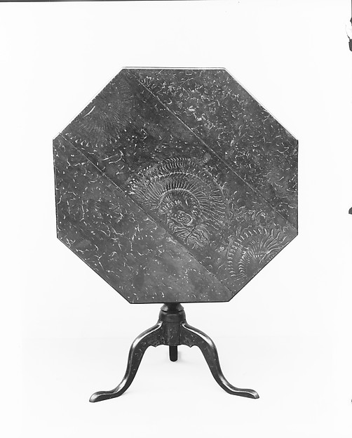 Octagonal tea table