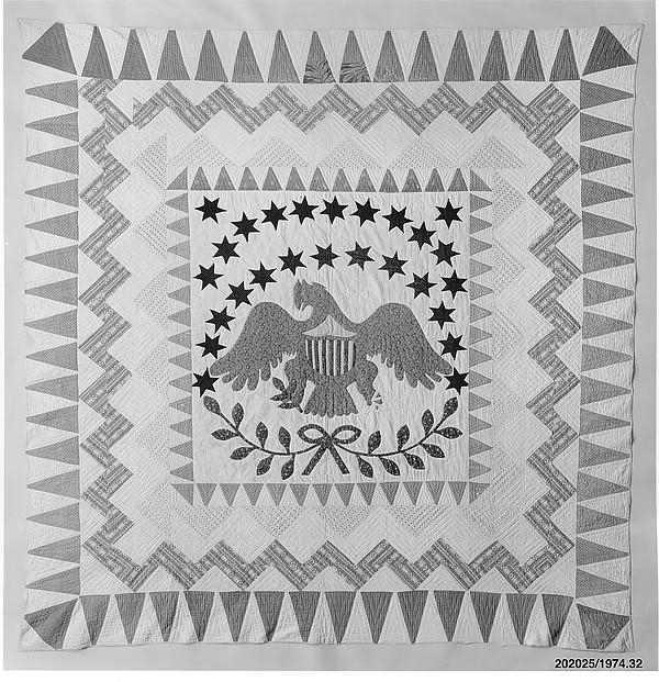 Quilt, Eagle pattern