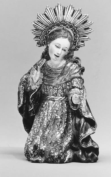 Mary (from a nativity)
