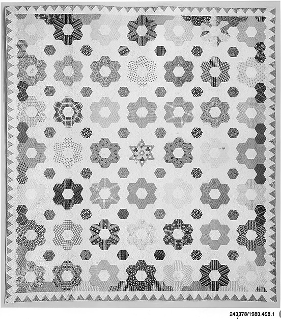 Quilt, Hexagon or Honeycomb pattern