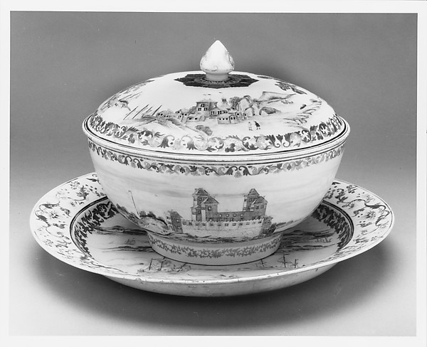 Covered Punch Bowl