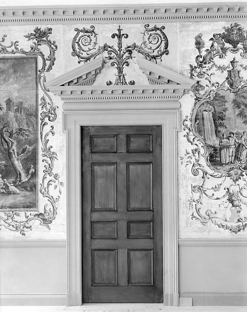 Door from the Great Hall of Van Rensselaer Manor House, Albany, New York