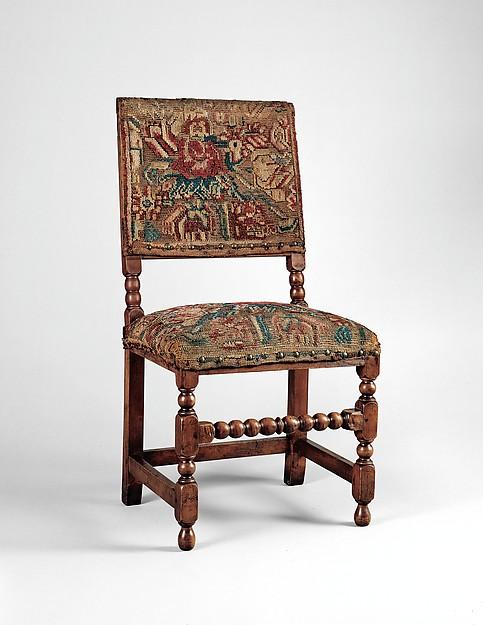 Turkey-work chair