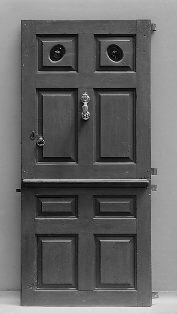 Exterior Door from Dr. Stephen Thorn House, New Hackensack, New York