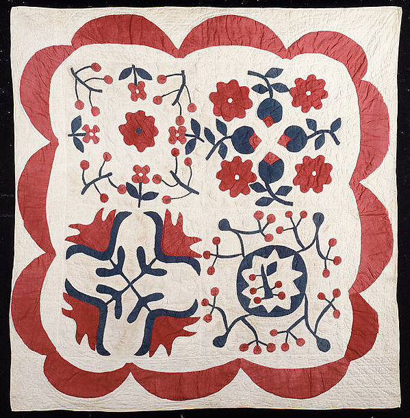 Crib Quilt, Album pattern