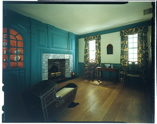 Fireplace wall paneling from the John Hewlett House