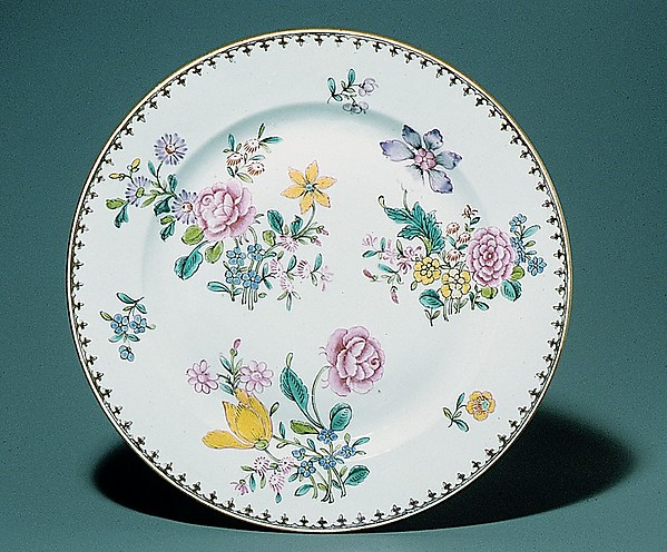 Fascinating Historical Picture of  with Plate in 1736