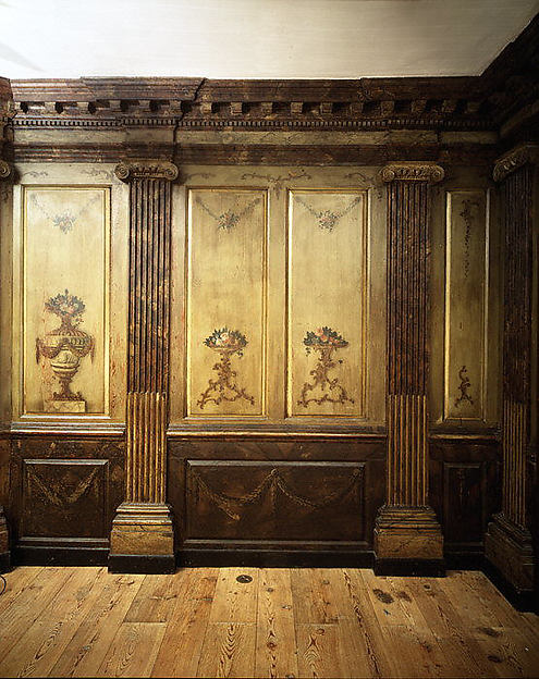 Paneling from Marmion, the Fitzhugh Family House, Tidewater, Virginia