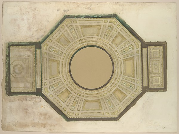 Design for a rotunda ceiling