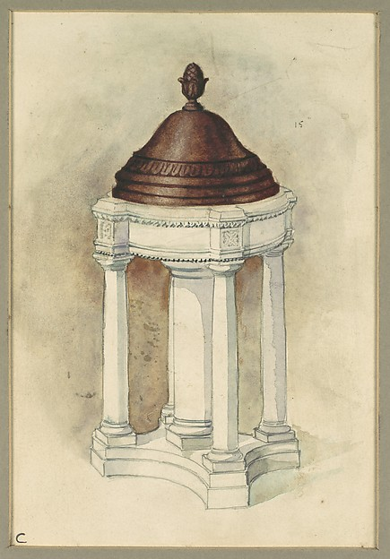 Design for Baptismal font