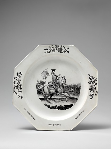 This is What  and Plate Looked Like  in 1752