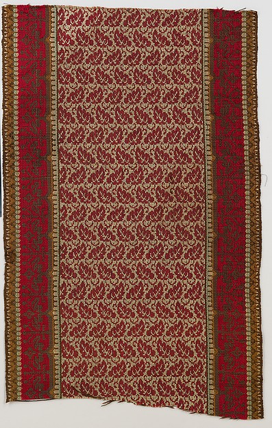 Ingrain carpet runner piece