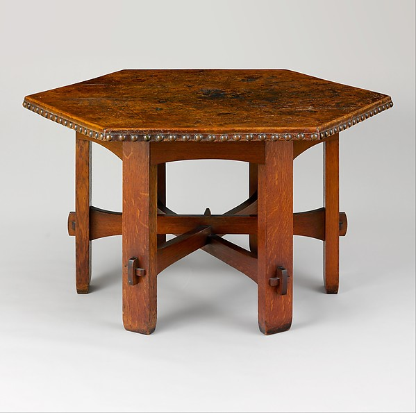 Gustav Stickley Library Table American The Met