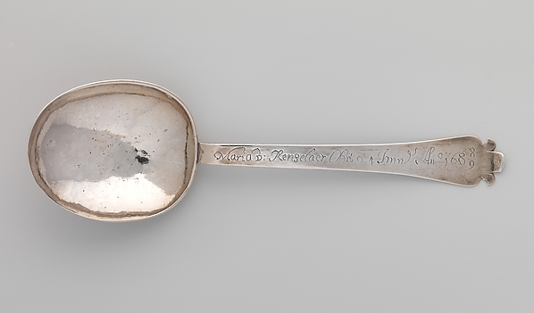 Funeral spoon