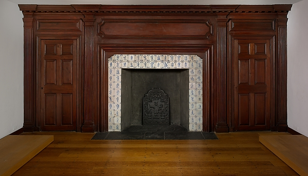 Fireplace wall paneling from the Benjamin Hasbrouck House