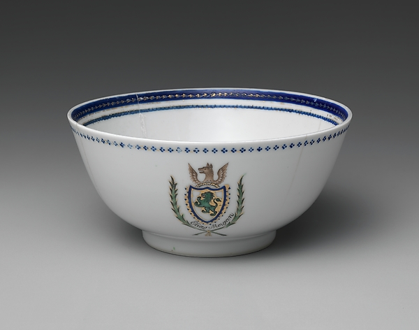 This is What Chinese culture and Bowl Looked Like  in 1785