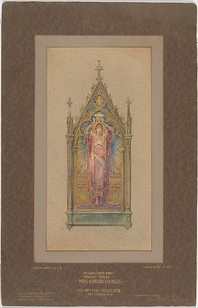 Design for a mosaic panel