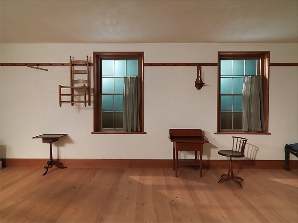 Architectural elements from North Family Dwelling, New Lebanon, New York