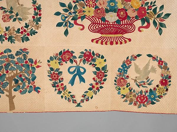 Quilt, Presentation pattern