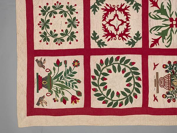 Quilt, Album pattern