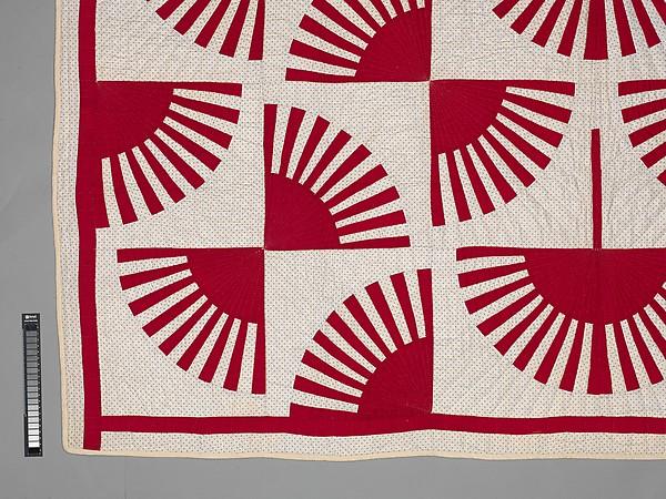 Quilt, Fan pattern
