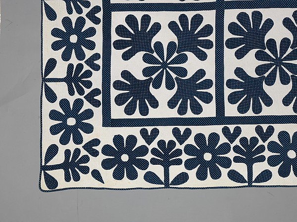 Quilt, Oak Leaf pattern
