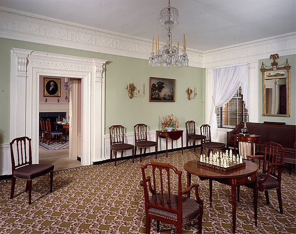 Parlor from the William Moore House