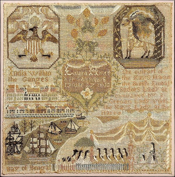 Embroidered Sampler