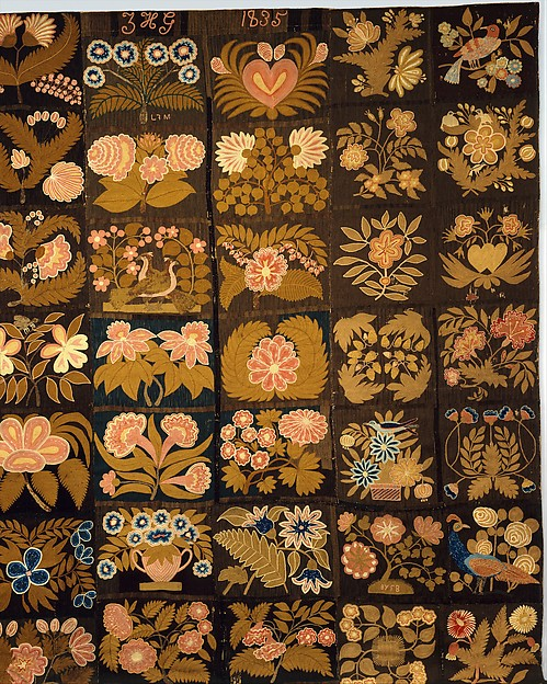Embroidered Carpet