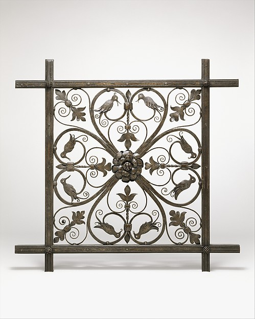 Grille [Prototype for Ceiling Grille for Pierpont Morgan Library Annex]