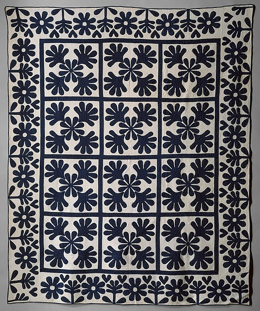 Quilt, Oak Leaf pattern