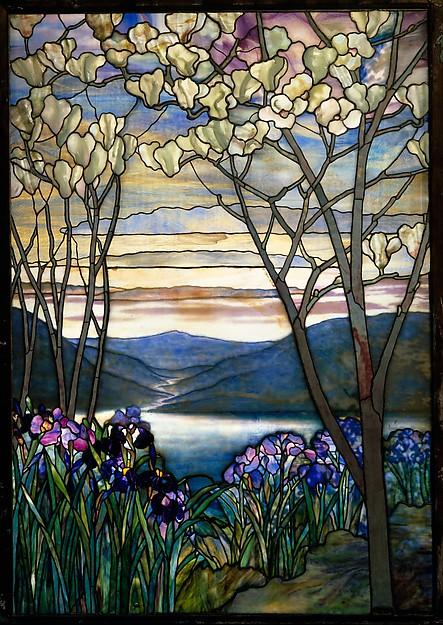 Magnolias and Irises