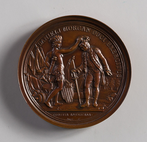 This is What  and Medal of General Daniel Morgan Looked Like  in 1770