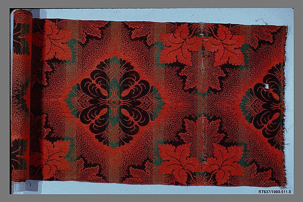 Woven carpet piece