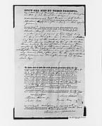 Manuscript Deed for Shaw Homestead, Kensington, New Hampshire