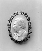 Cameo Portrait of Frederick Marshall