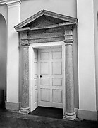 Doorway from Chalkley Hall, Frankford, Pennsylvania