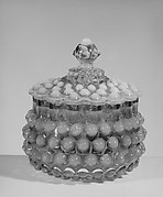 Covered Hobnail Sugar Bowl