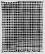 Plaid coverlet