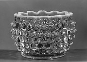 Hobnail finger bowl