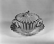 Covered Cup and Saucer