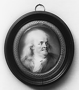 Plaque Portrait of Benjamin Franklin