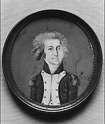 Portrait Miniature of the Marquis de Lafayette