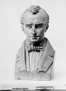 Bust of James Fenimore Cooper