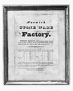Advertisement for Norwich Stone Ware Factory