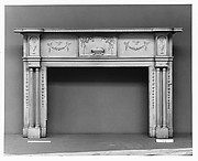 Mantel with Wellford Ornament from Beltzhoover House, Carlisle, Pennsylvania