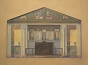 Design for church interior