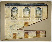 Design for interior wall of Hershey Theatre, Hershey, Pennsylvania